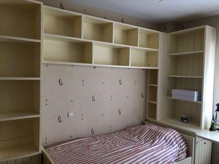Dormitorio juvenil, mueble, habitacion completa.