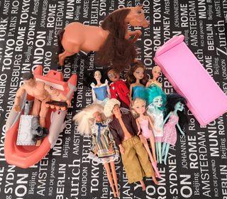 Lote Muñeca Barbie