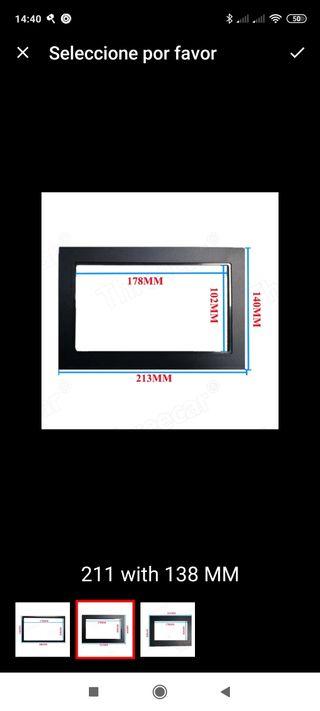 marco de radio de coche