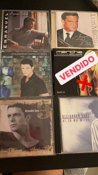 CD's Pop Español Antiguo