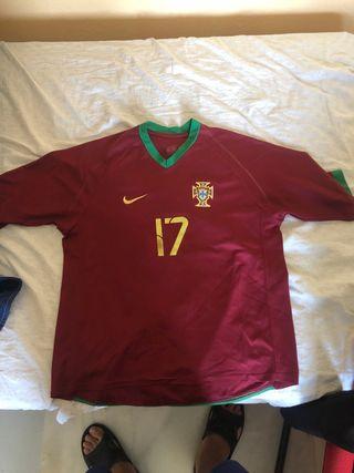 Camiseta Retro Portugal Cristiano Ronaldo