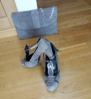 Zapatos y bolso fiesta