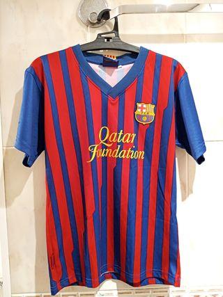 Camiseta Barcelona 2011-12 Niño