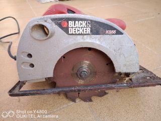 cortadora circular black&Deker