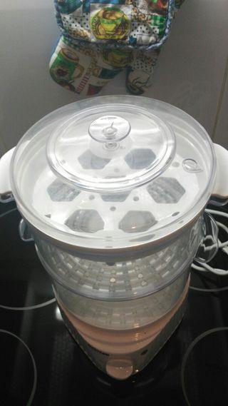 Cocedor de alimentos (Vaporizador) Electrico