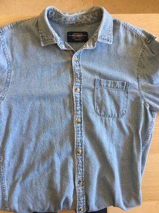 Camisa vaquera Pull & Bear