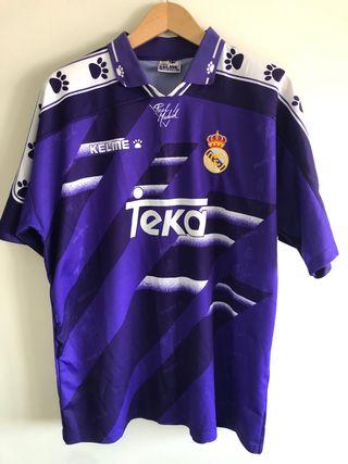 CAMISETA ORIGINAL REAL MADRID 1995-1996 XL