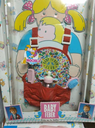 Mochila Baby Feber
