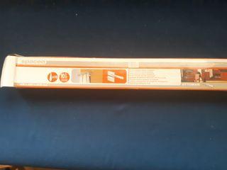 corbatero metálico para interior de armario