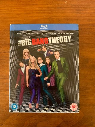 Big Bang Theory Blu Ray