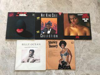 Lote de 5 discos vinilo Soul