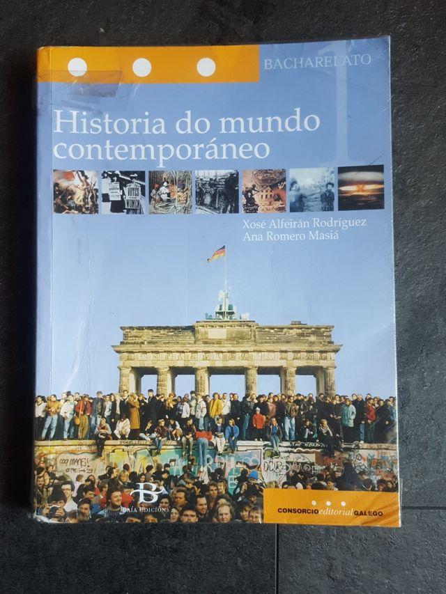 Libro de Historia de 1° de bachillerato