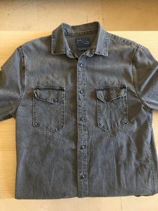 Camisa vaquera Zara man