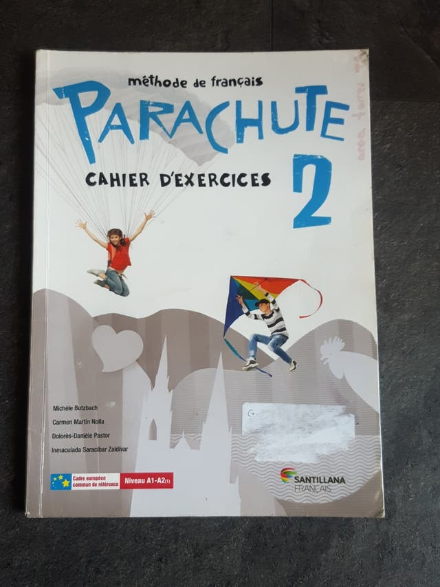 Cuadernillo francés de 2° de la eso