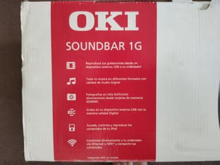 Barra de Sonido/Multimedia Oki Soundbar 1G