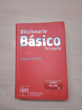 diccionario básico para primaria