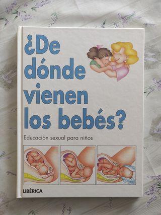 ¿De dónde vienen los bebés?