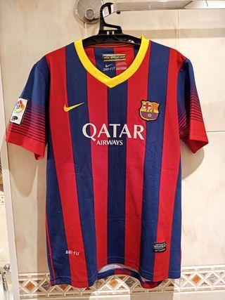 Camiseta FC Barcelona 2013-14 t.14 Neymar