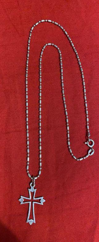Cadena de plata925 con colgante