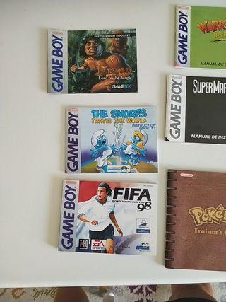 manuales Game boy