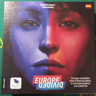 Europe divided juego de mesa
