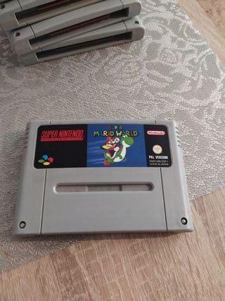 super Nintendo Mario world