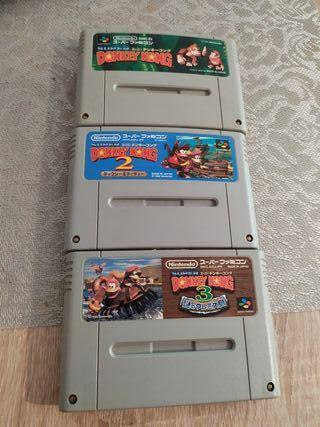 super Nintendo donky cong