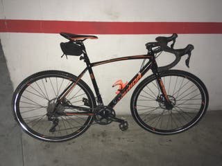 Gravel ciclocross carretera