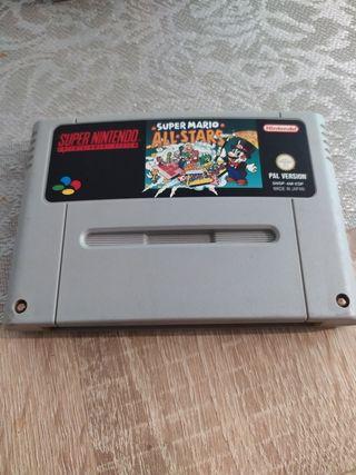 super Nintendo all star
