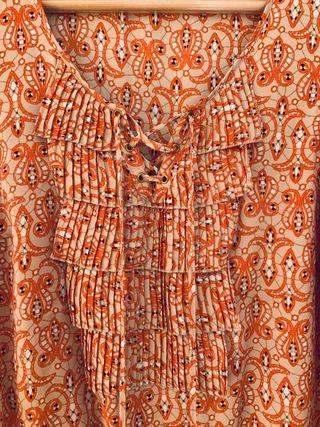 Blusa estampada de Cortefiel