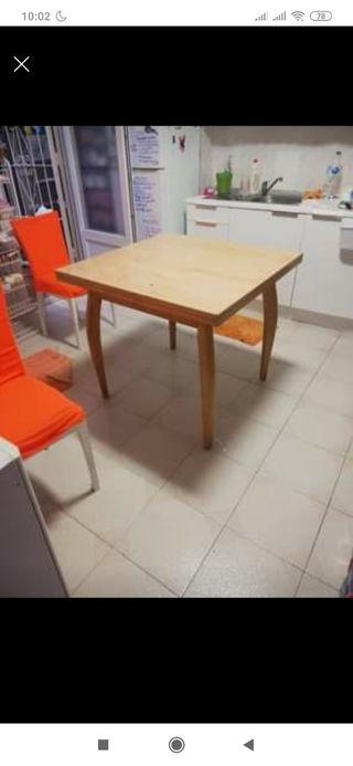 mesa de cocin extensible