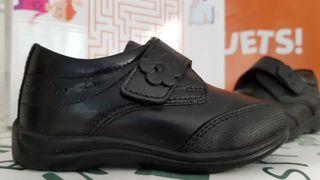 Zapatos piel nuevos colegiales Tex talla 25 (24)