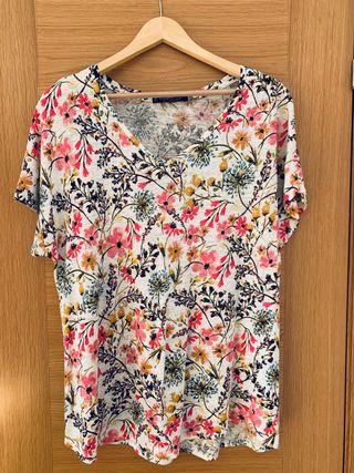Camiseta manga corta Violeta