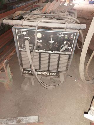 máquinas de soldar y plasma