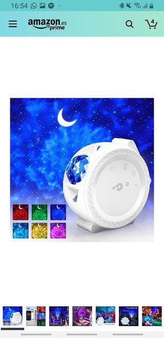 proyector estrellas inteligente(wifi) luz nocturna