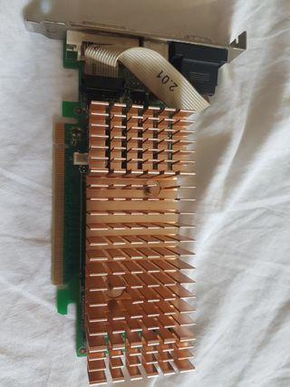 Tarjeta Gráfica 6200 LE 128MB/32Bit DDR2