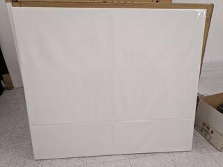 Cabecero blanco para cama de 150