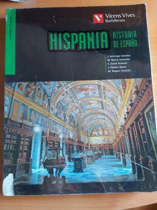 Libro Historia 2°Bachillerato