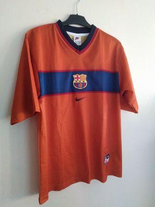 Camiseta Figo T-L Barcelona.