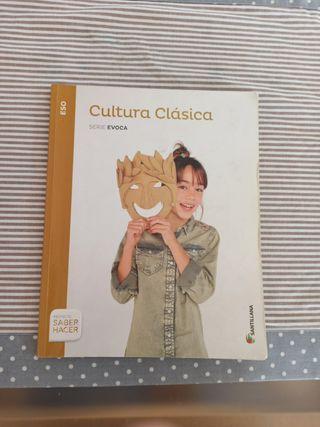 LIBRO CULTURA CLÁSICA ESO SANTILLANA
