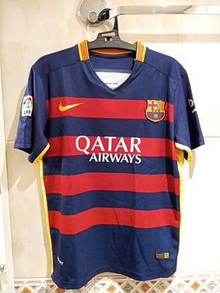 Camiseta Barcelona 2015-16 t.16 Suárez