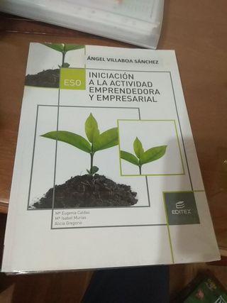 Libro de iniciación emprendedora 3ESO