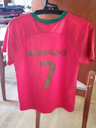 camiseta Portugal Ronaldo