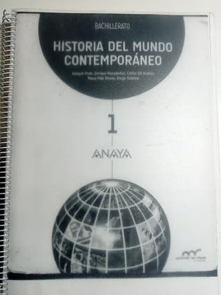 Libro Historia 1° Bachillerato Gonzalo Nazareno