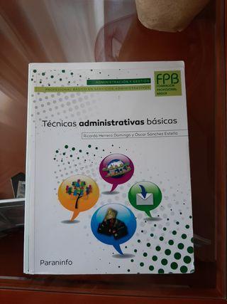 Libro técnicas administrativas básicas, 1°FPB