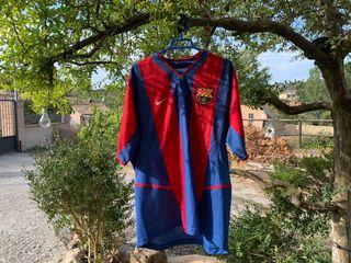Camiseta F.C.Barcelona 2002-2003