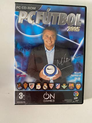 PC CD ROOM Futbol 2005