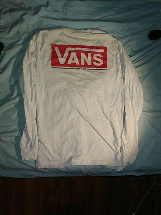 Camiseta Manga Larga Vans