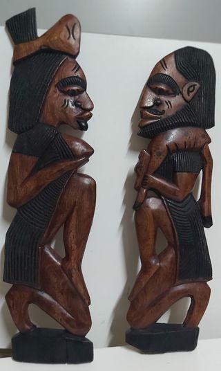 Tallas de madera, arte africano