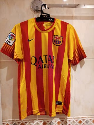 Camiseta FC Barcelona t.14 2013-14 Catalunya